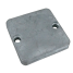 top view of Martyr Mercruiser Inboard/Outboard Anodes - Zinc - Plate