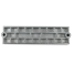 back view of Martyr Mercury, Force, Mariner Outboard Waffle Bar Anode - Zinc