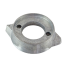 angle view of Martyr Volvo Penta Prop Ring Anode - Magnesium