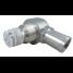 angle view of Perko Fuel Inlet Check Valve - NPTF Threaded, 90 Degree Hose Port, EPA Compliant