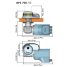 Dimensions of Quick Windlass Quick Prince DP2 Vertical Windlass