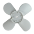 73r8050 of Red Dot Fan Blade for R-254 & R-255 Auxiliary Hydronic Heaters