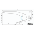 Dimensions of Rocna Anchors Rocna Anchor - Stainless Steel