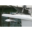 Anchor in Bow Roller of Rocna Anchors Vulcan Anchor - Stainless Steel