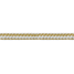 HarborMaster Double Braid Nylon Anchor Lines - White and Gold