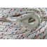 end of Samson HarborMaster Double Braid Nylon Anchor Lines - Pre-Spliced White w/ Tracers