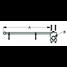 Adjustable Rail Mount Flagpole and Flagpole Holder