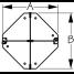 Dimensions of Sea-Dog Line Radar Reflector