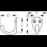 Dimensions of Sea-Dog Line Single Coat Hook - Large Base