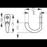 Dimensions of Sea-Dog Line Single Coat Hook - Small Base