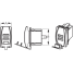 Dimensions of Sea-Dog Line USB Dual Power Socket - Rocker Switch Style