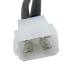 """male end of Side-Power Side Power """"Y"""" Connectors for Second Control Station"""