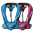 Group View of Spinlock Deckvest Cento Junior Automatic Inflatable PFD