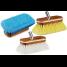 "8"" Premium Wash Brush - Synthetic Wood Block w/ Bumper"