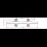 dimensions of Suncor Herreshoff Cleat