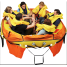in use of Switlik CPR Coastal Passage Raft
