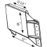 diagram of TH Marine Supplies Mini Jacker Outboard Jack Plate