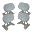 c1007 of Weaver Industries Universal Dinghy Chocks with Tilting Pads - 1,000 lb Capacity