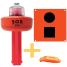 C-1003 SOS Distress Light, Flag & Whistle