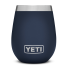 Navy of Yeti Coolers Rambler 10 oz Wine Tumbler