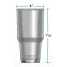 Dimensions of Yeti Coolers Rambler 30 oz Insulated Tumbler - Stainless Steel