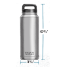 Dimensions of Yeti Coolers Rambler 36 oz Stainless Steel Insulated Bottle - in DuraCoat Colors