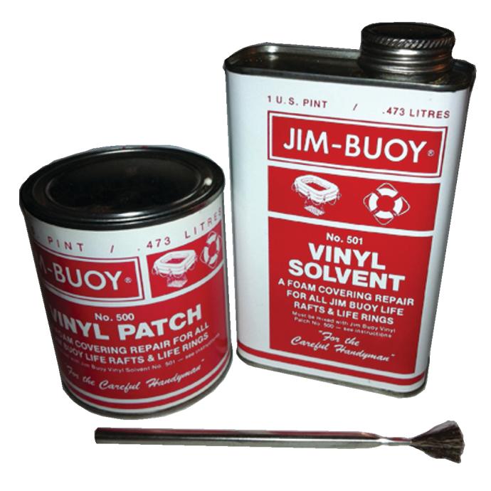 Vinyl Life Raft Repair Kit