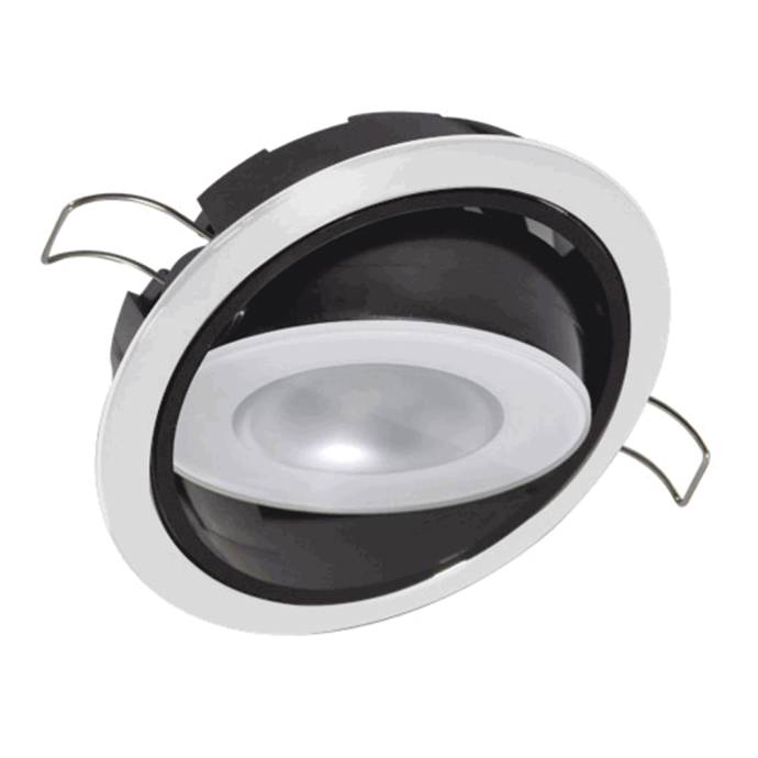 "3-1/4"" Positionable Mirage LED Recessed Mount Down Light 1"