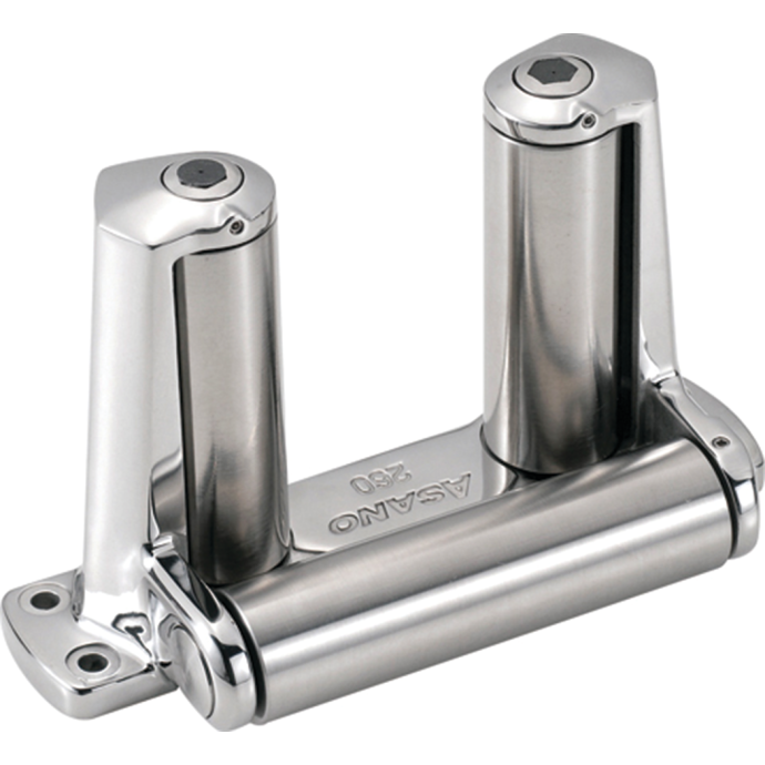 Deck End Roller - Stainless Steel 1