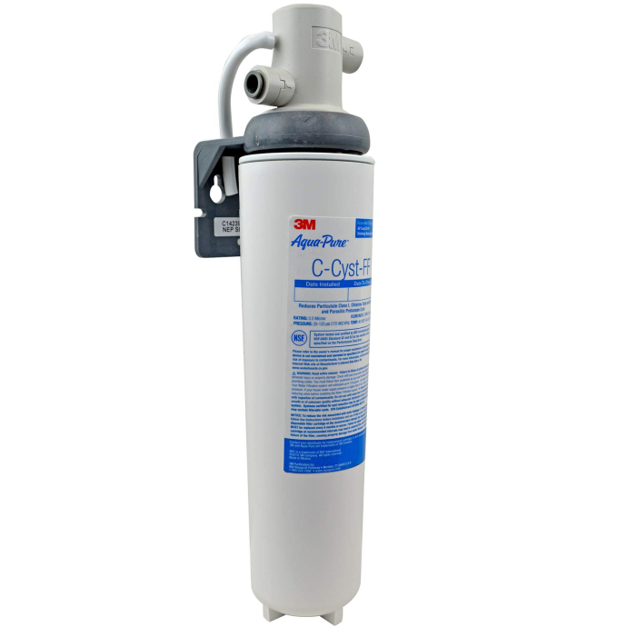 Aqua-Pure Under Sink Full Flow Water Filter System - with Extra-Fine Anti-Cyst Filter 1