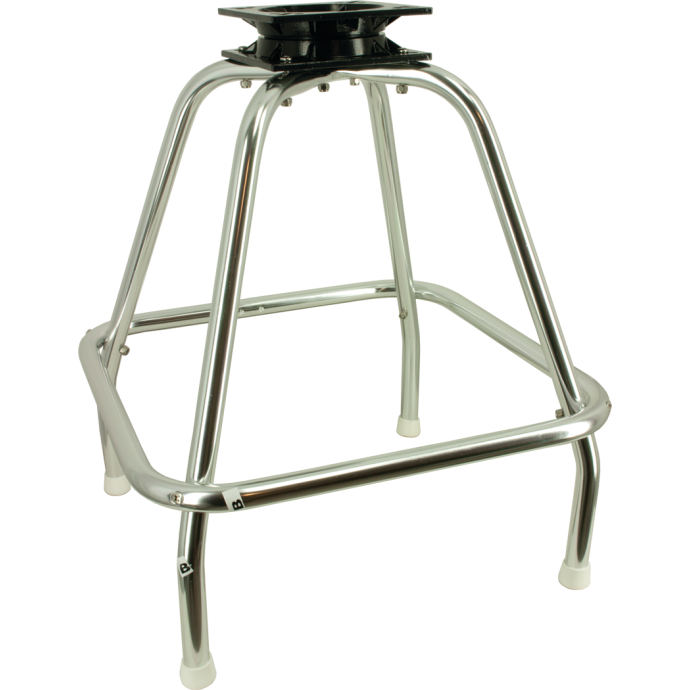 """Deluxe Chair Stand Includes 7"""" x 7"""" Heavy-Duty Seat Swivel 1"""