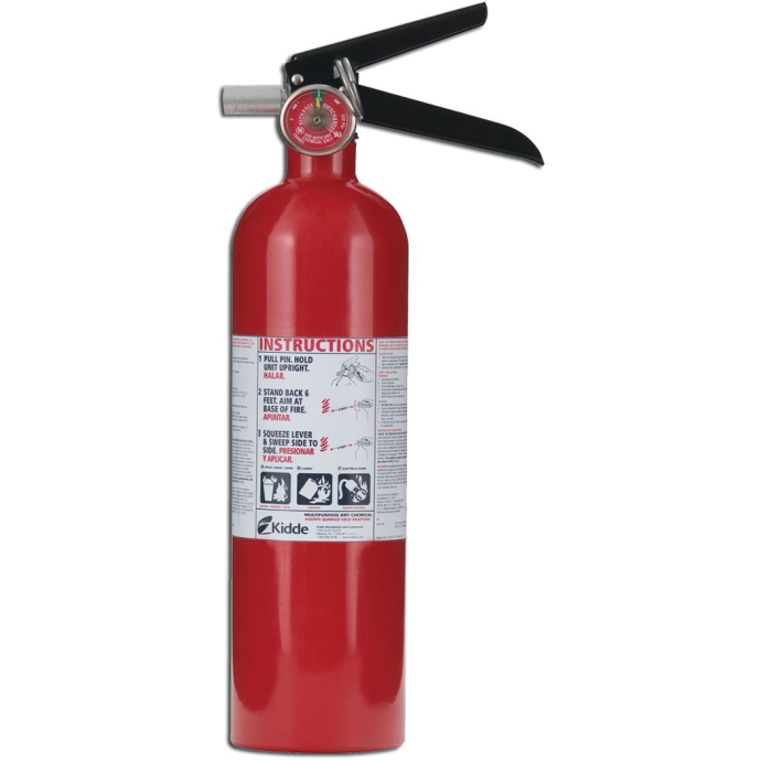 Portable Class 1A:10-B:C Fire Extinguisher 1