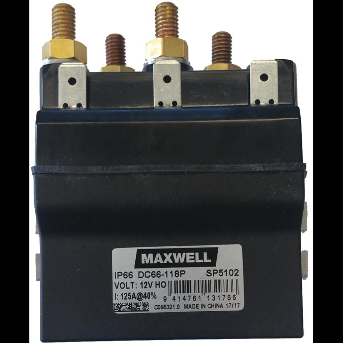 Reversing Solenoid for Permanent Magnet Windlass Motors 1