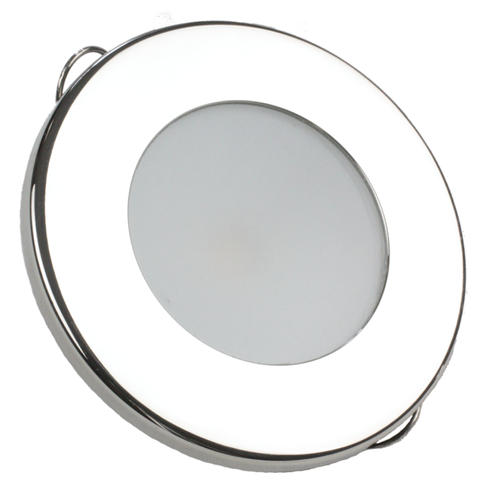 "2-3/4"" Indoor/Outdoor Recessed Mount LED Lights - Round Trim 1"