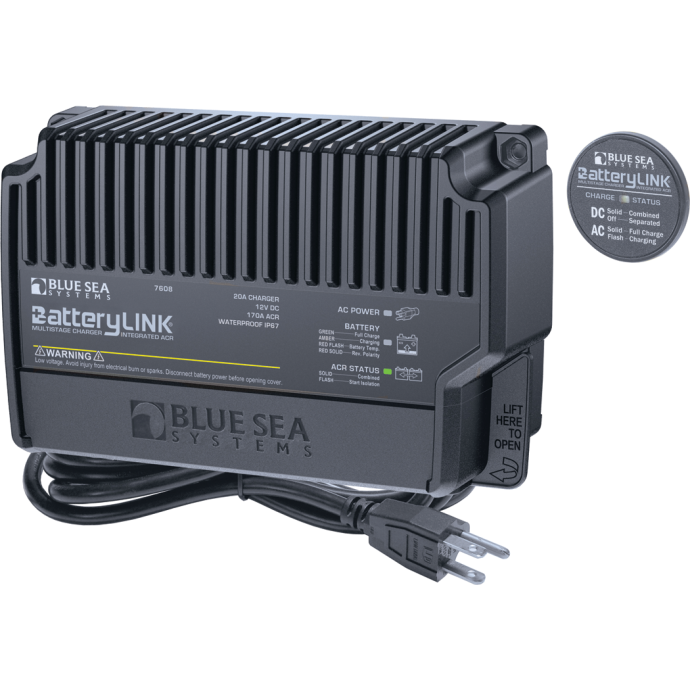 BatteryLink Multi-Stage Charger with ACR - 20 Amps 1