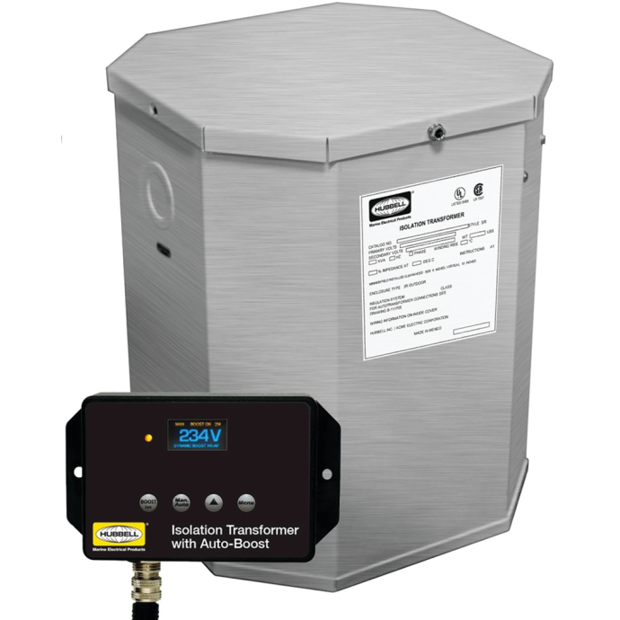 15 kVA, 32A UL Listed Marine Isolation Transformers - 50/60 Hz w/ ISO-Boost 1