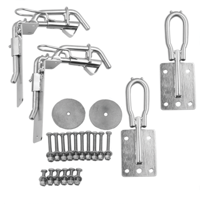 SD7 - Heavy Duty Snap Davit Kit for 10-12 ft Hardshell Dinghies