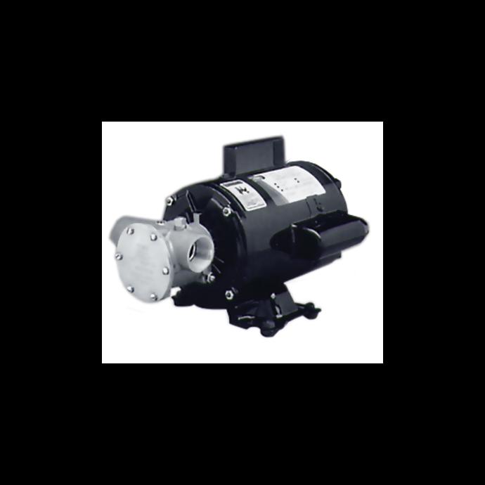 Intermittent Duty Cycle Flexible Impeller Pump Units
