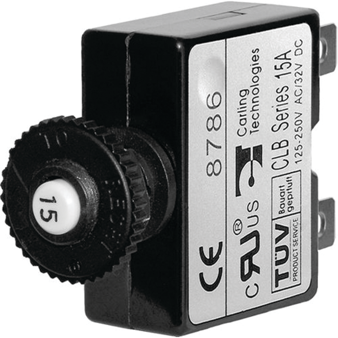 Push Button Reset Thermal Circuit Breakers