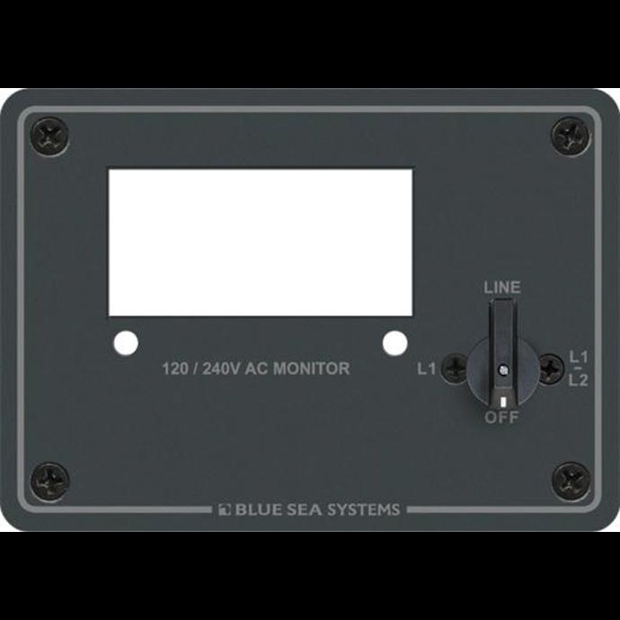 120/240V AC Digital Meter Blank Panel