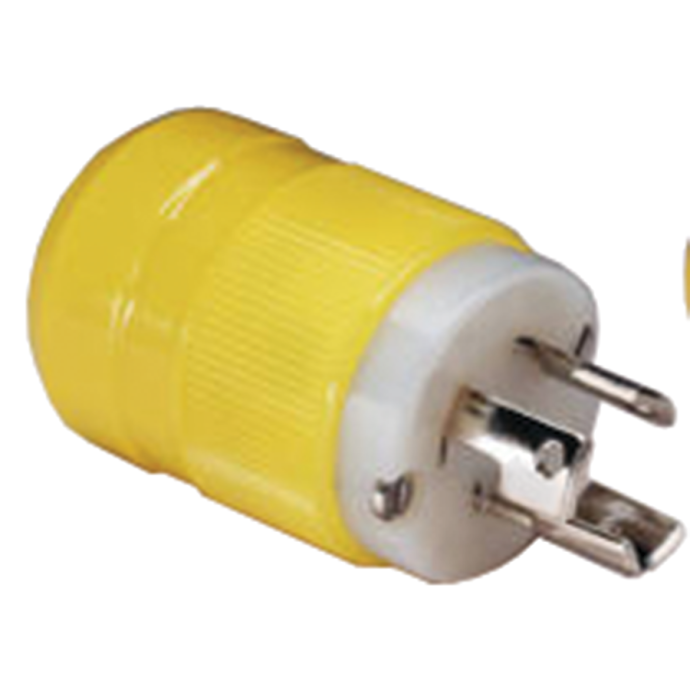Marine 15 Amp 125V Twist-Lock Plug & Connector