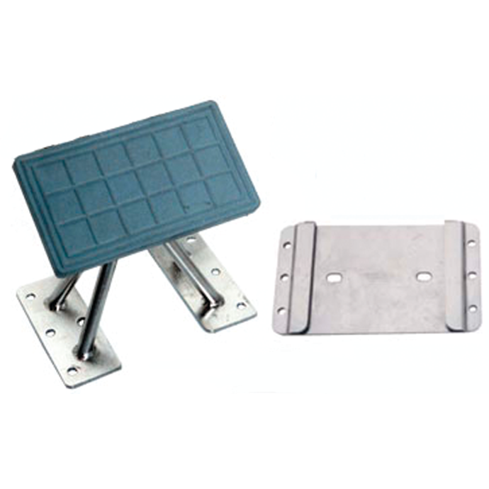 Universal Dinghy Mounting Chocks - Standard Stanchions