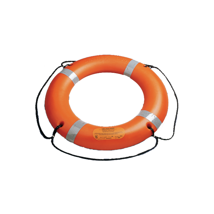 "30"" Ring Buoy with SOLAS Reflective Tape"