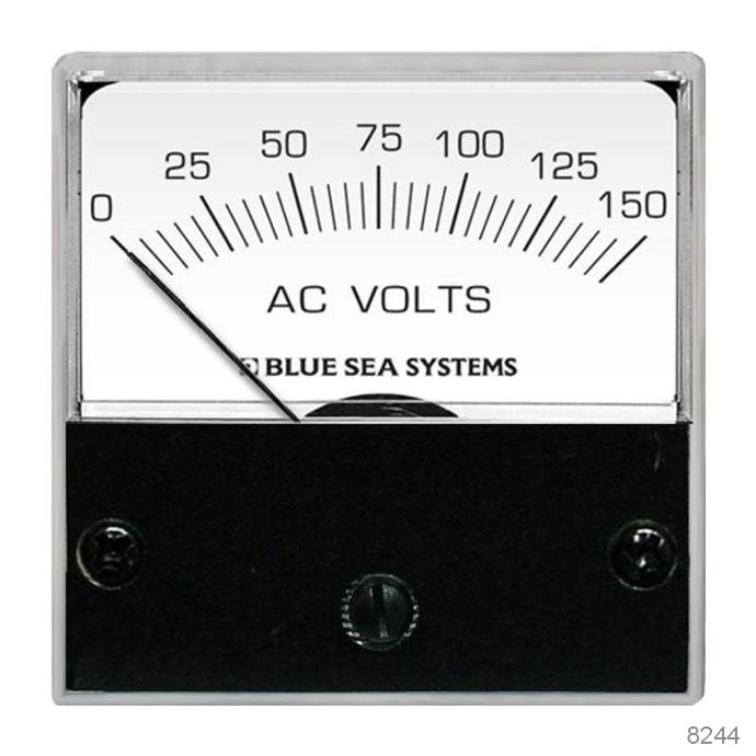 AC Analog Micro Voltmeters, 0 - 250V AC