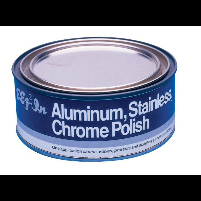 Aluminum, Stainless, Chrome Polish