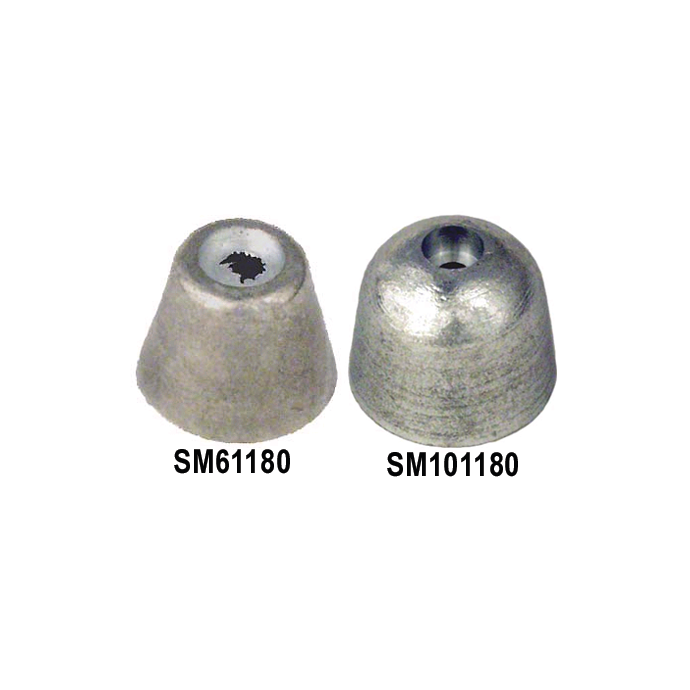 Zinc Anodes for Side-Power Bow Thrusters