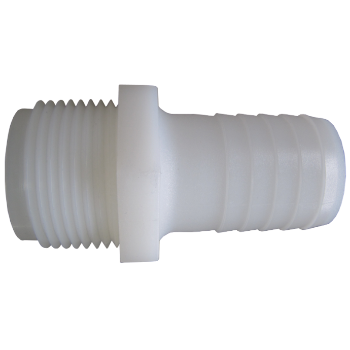 Hose to Male Pipe Adapter - Nylon