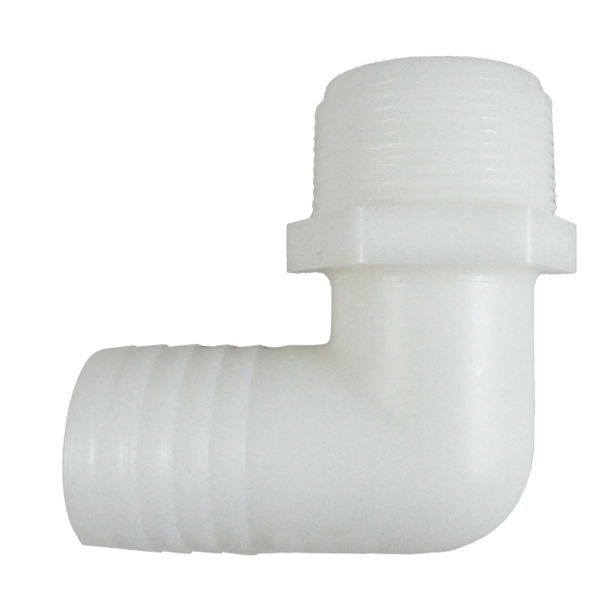 90° Elbow Hose to Pipe Adapter