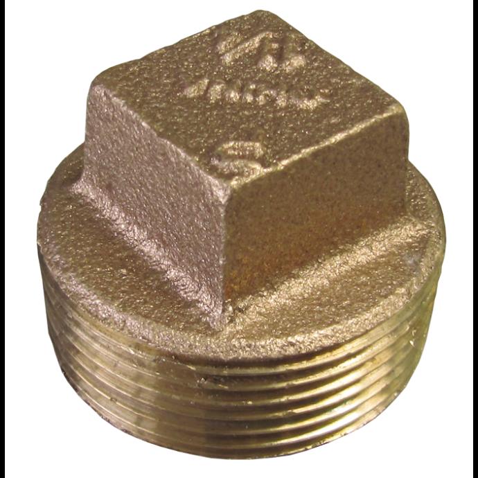 Solid Square-Head Plug