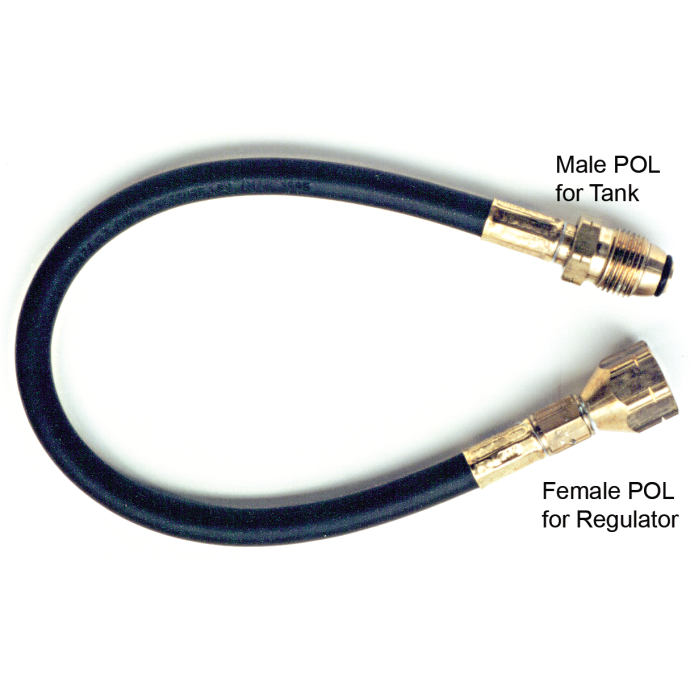 LPG Wall Mounted Regulator High Pressure Connector Hose